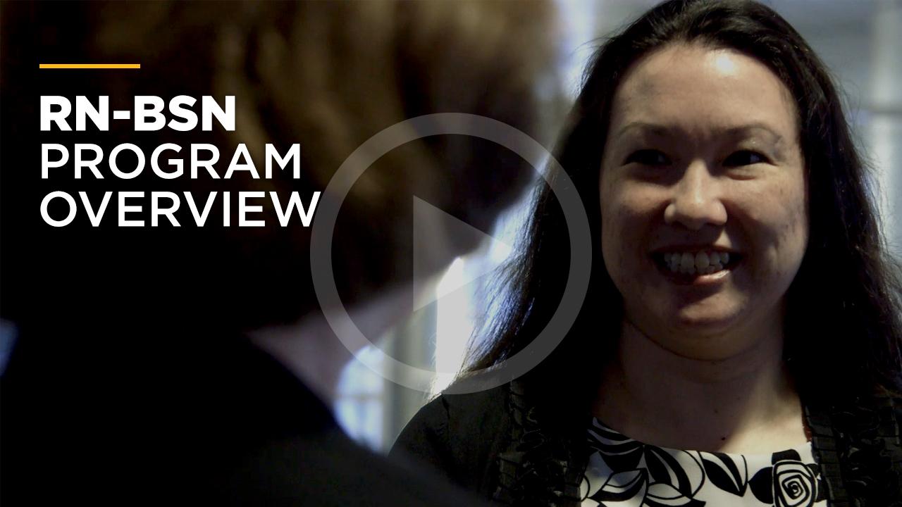 Online learning video - Bachelor of Science in Nursing